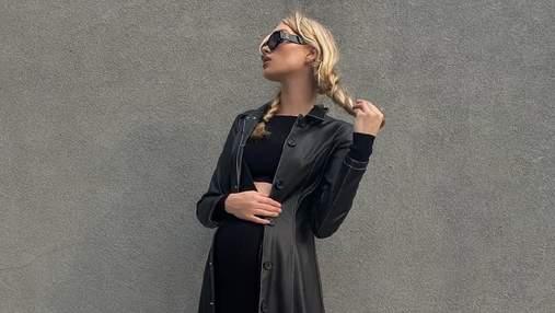"""У стилі """"Матриці"""": вагітна Ельза Госк вразила сміливим образом"""