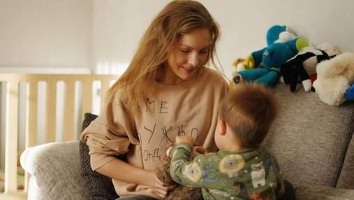 Олена Шоптенко замилувала мережу світлиною з сином