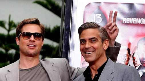 Ужасная история: Джордж Клуни рассказал, как его разыграл Брэд Питт