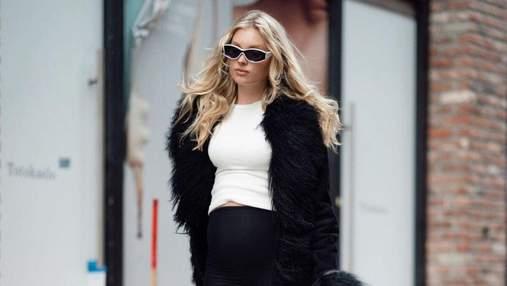 У жакеті від Chanel: вагітна Ельза Госк продемонструвала стильний образ – фото