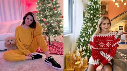 Свято наближається: які зірки вже прикрасили будинки до Різдва – святкові фото