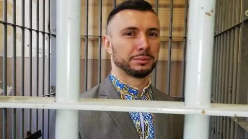 Маркив передал в музей вышиванку, в которой был на последнем заседании суда в Италии: фото