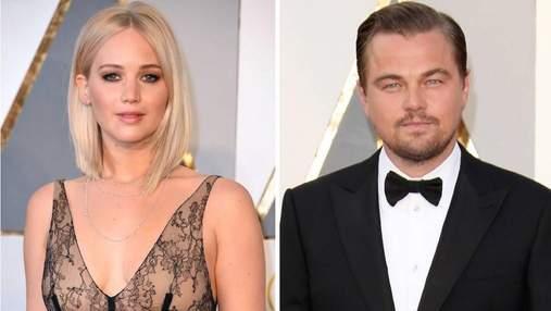 Леонардо Ди Каприо и Дженнифер Лоуренс изменились до неузнаваемости для съемок фильма: фото
