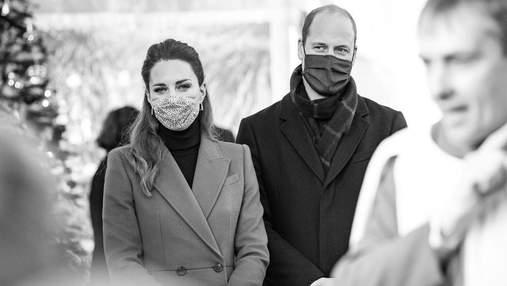 Кейт Миддлтон и принц Уильям впервые за долгое время появились на публике с детьми: фото