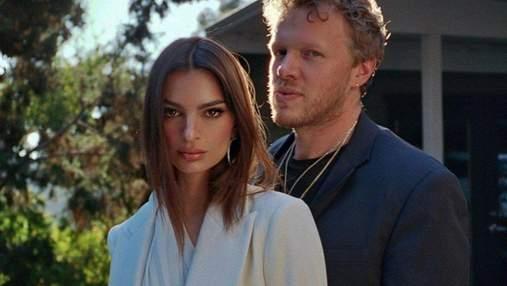 Ефектний couple-look: Емілі Ратажковскі захопила бездоганним образом для пари