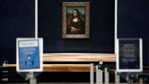 """Невідомий покупець заплатив 80 тисяч євро, щоб піти на """"побачення"""" з """"Мона Лізою"""" без скла"""