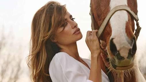 Пенелопа Крус снялась в первом выпуске Vogue Spain в 2021 году: вдохновленные фото