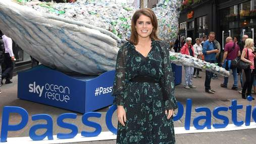 Показала большой живот: беременная принцесса Евгения попала в объектив папарацци в Лондоне