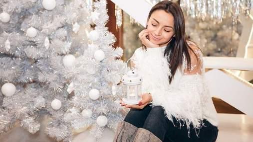 Ілона Гвоздьова розповіла про свої бажання на 2021 рік: новорічне фото