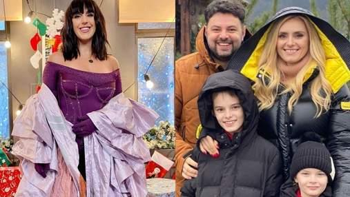 Как украинские знаменитости поздравляют с Рождеством: яркая фотоподборка