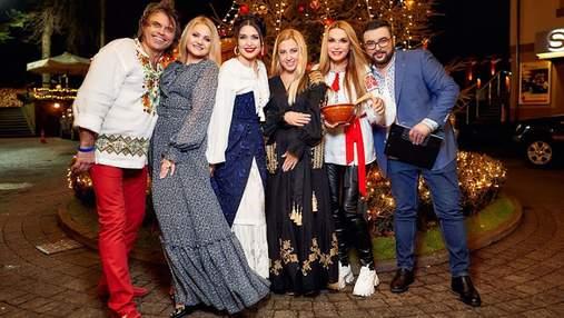 Как украинские звезды Рождество праздновали: кутья и конкурс на лучший национальный наряд