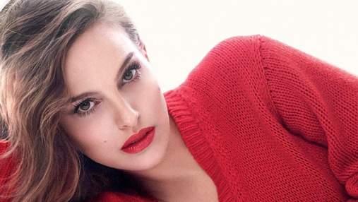 Красного много не бывает: Натали Портман эффектно представила новую помаду Dior – видео
