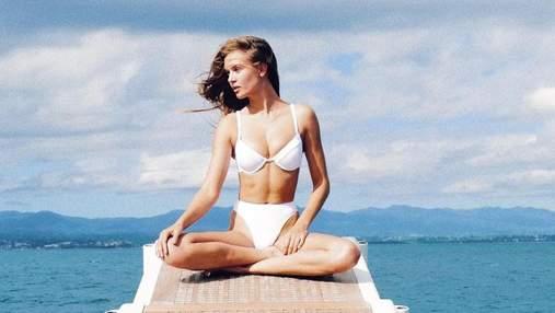 Жозефін Скрівер позасмагала на яхті з оголеним торсом: гаряче фото