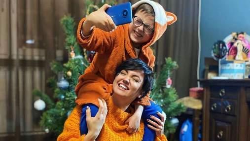 Построил дома ракету: Оля Цибульская рассказала об увлечениях сына