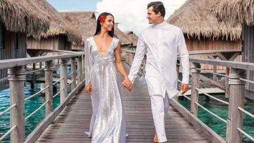 Євген Кот з дружиною святкують паперове весілля: неймовірні фото пари