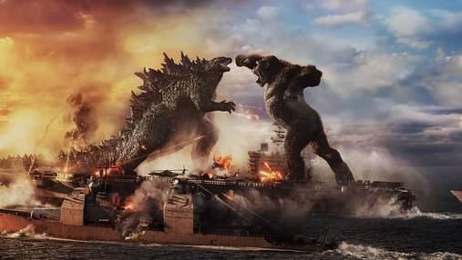 """""""Годзілла проти Конга"""": у мережі презентували видовищний трейлер фільму"""