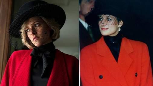 """Крістен Стюарт перевтілилась у принцесу Діану у фільмі """"Спенсер"""": приголомшлива схожість"""