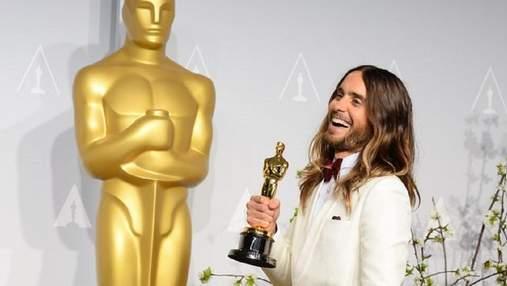 Хто вкрав Оскар Джареда Лето: актор розповів, що у нього зникла статуетка