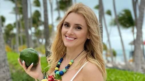 Подарок от мужа: Ирина Федишин празднует 34-летие в Доминикане – яркие семейные фото