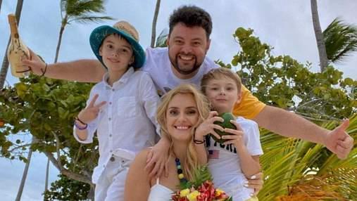 Ірина Федишин показала нові яскраві фото з сімейного відпочинку в Домінікані