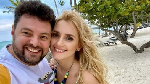 На яхте в Доминикане: Ирина Федишин показала романтический танец с мужем – видео