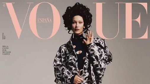 Белла Хадид снялась для испанского Vogue: изысканный образ