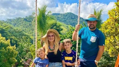 Ірина Федишин показала ранок у Домініканських горах: сімейні знімки