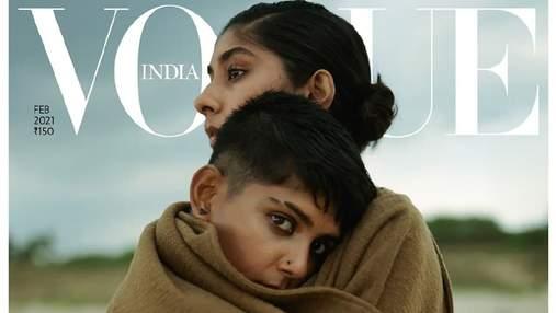 Vogue India представили обложку с однополой парой: эффектные кадры из фотосессии