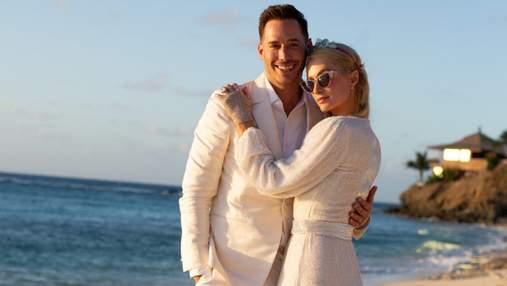 Періс Гілтон заручилась із бойфрендом Картером Руемом: чарівні фото біля океану
