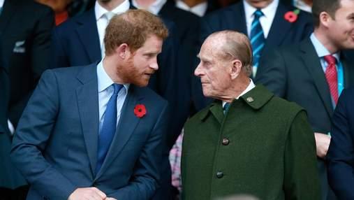 Принц Гарри переживает за дедушку Филиппа и готовится к вылету в Лондон, – СМИ