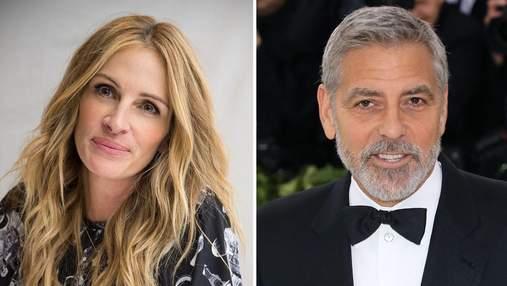 Джордж Клуни и Джулия Робертс сыграют в романтической комедии