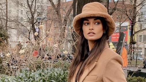 Бразильская модель Жизель Оливейра надела панаму Ruslan Baginskiy: безупречный образ