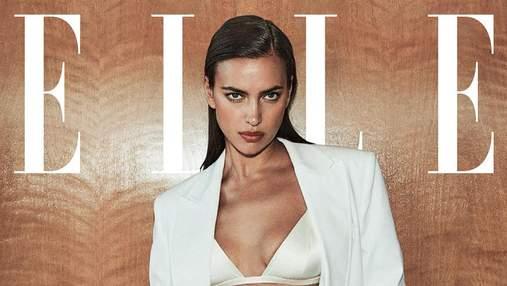 Супермодель Ирина Шейк снялась для обложки Elle: эффектная фотосессия