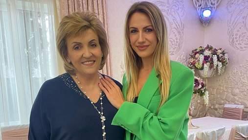 Леся Никитюк умилила сеть фотографией с мамой