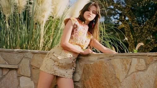 Селена Гомес украсила обложку Vogue: волшебный кадр