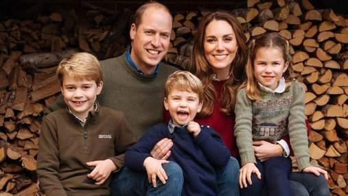 Дети принца Уильяма испекли торт и сделали открытки в честь дня матери: трогательные фото