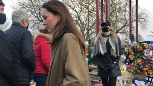 Без охорони та репортерів: Кейт Міддлтон таємно відвідала масовий захід в Лондоні – відео