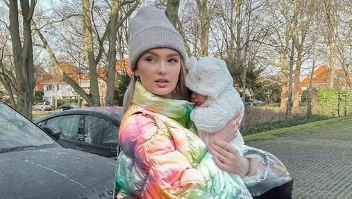 Ангел Victoria's Secret Роми Стрейд впервые показала лицо дочери: милые фото и видео