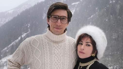 Gucci помогает с гардеробом Леди Гаги в новом фильме: 4 роскошные образы актрисы