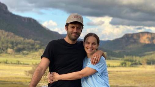 Любовь в воздухе: Натали Портман опубликовала редкие фото с мужем