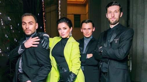 Оля Цибульская ошеломила дерзким образом в салатовом пальто: фото