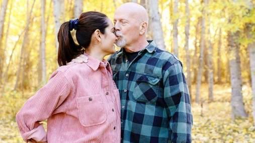 Дружина Брюса Вілліса зворушливо привітала актора з 12 річницею шлюбу: фото