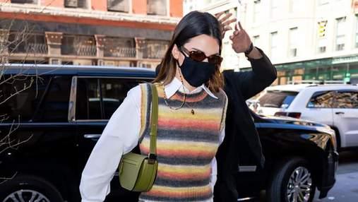 Цей образ ви захочете повторити: Кендалл Дженнер показала, як носити трендове вбрання