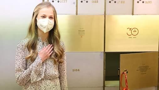 15-річна донька королеви Летиції здійснила перший публічний вихід без батьків