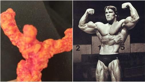 Американець знайшов чипс у вигляді Арнольда Шварценеггера і продав його за величезні гроші: фото