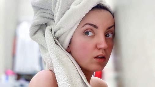 Полностью обнаженная: Оля Цибульская завела сеть провокационным фото в ванной