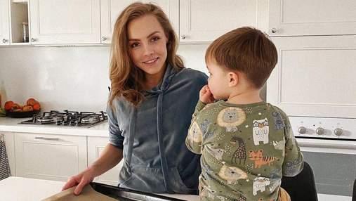 Олена Шоптенко зачарувала мережу милим фото з сином