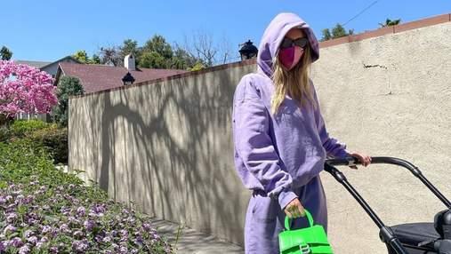 Який спортивний костюм купити цієї весни: стильний образ показує Ельза Госк