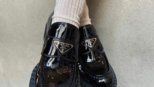 Тренд сезону – лофери і шкарпетки: ідеї стилізації від зірок стрітстайлу