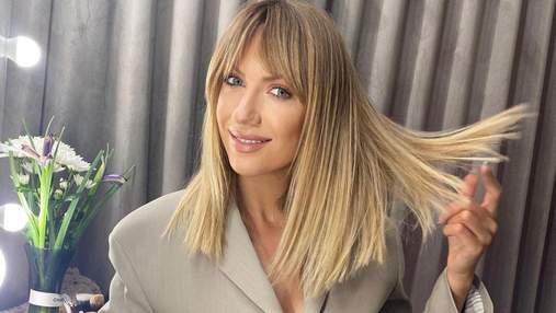 Леся Нікітюк продемонструвала сміливий образ з новою зачіскою: фото